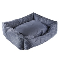 L Heavy Duty Dog Puppy Pad Bed Kennel Mat Cushion