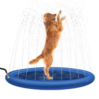 100cm Pet Sprinkler Water Splash Pad Dog/Cat Cooling Pond/Outdoor Toy