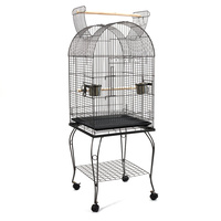 150cm Bird Budgie Cage with Stand Alone Budgie  Perch