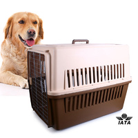 Airline Approve Dog Cat Crate Pet Carrier Cage-XXL