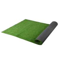 Primeturf Synthetic 17mm  1.9mx10m 19sqm Artificial Grass Fake Turf Olive Plants Plastic Lawn