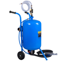 Giantz 100LB Portable Soda/Sand Blaster - Blue