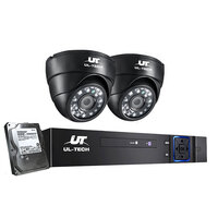 UL Tech 1080P 4 Channel HDMI CCTV Security Camera with 1TB Hard Drive