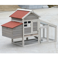 Small Chicken coop with nesting box for 2 Chickens / Rabbit Hutch