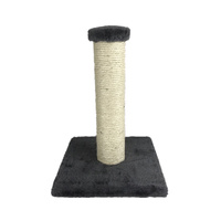Small Cat Scratcher Kitten Tree Gym Scratching Post -Grey