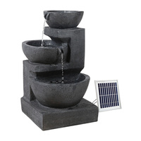 Gardeon Solar Fountain with LED Lights