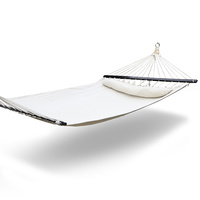 Gardeon Swing Double Hammock Bed Cream