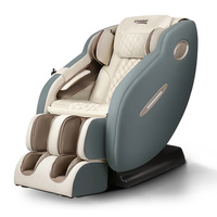 Livemor Electric Massage Chair Recliner SL Track Shiatsu Heat Back Massager