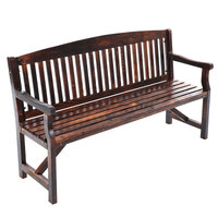 Gardeon Wooden Garden Bench Chair Natural Outdoor Furniture Décor Patio Deck 3 Seater