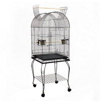 Large Bird Parrot Aviary Cage with Perch