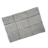 36inch Metal Collapsible Pet Cage Cushions Grey
