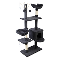Cat Tree Trees Scratching Post Scratcher Toys Condo House Furniture Wood