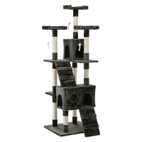 180cm Pet Cat Tree Trees Scratching Post Scratcher Tower Condo House Furniture Wood