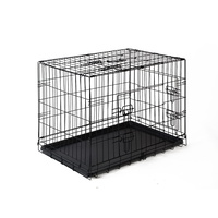 30 inch Pet Dog Cage Crate Kennel Cat Collapsible Metal Cages Carrier Playpen