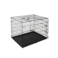 42 inch Pet Dog Cage Crate Kennel Cat Collapsible Metal Cages Carrier Playpen
