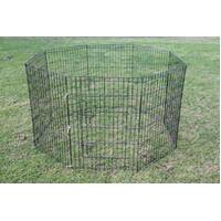 30' Dog Rabbit Playpen Exercise Puppy Enclosure Fence