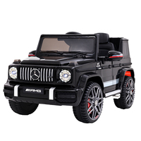 Mercedes-Benz Kids Ride On Car Electric AMG G63 Licensed Remote Cars 12V Black