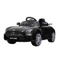 Kids Ride On Car MercedesBenz AMG GT R Electric 12V Black
