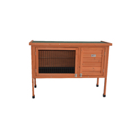Large Single Wooden Pet Rabbit Hutch Guinea Pig Cage