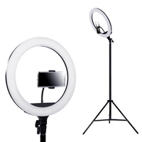 "Embellir 14"" LED Ring Light 5600K 3000LM Dimmable Stand MakeUp Studio Video"