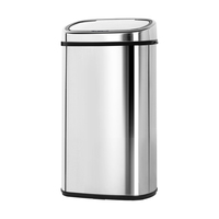 68L Stainless Steel Motion Sensor Rubbish Bin