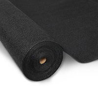 Instahut 1.83 x 50m Shade Sail Cloth - Black