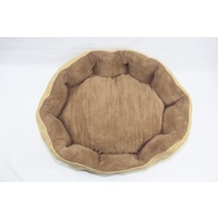 Washable Red Fleece Dog Cat Bed-Large