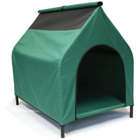 Green L Waterproof Portable Flea and Mite Resistant Dog Kennel House Nest Outdoor Indoor