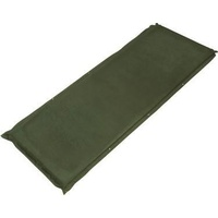 Trailblazer Self-Inflatable Suede Air Mattress Large - OLIVE GREEN