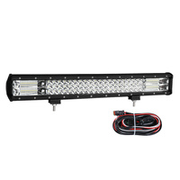 23inch LED Light Bar Triple Row Spot Flood Combo Work Driving Offroad 4x4