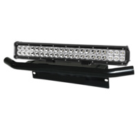 210w 20inch Cree LED Light Bar Flood Spot Combo Offroad Driving Plus Plate Frame