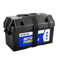 Atem Power Battery Box 12V AGM Deep Cycle For Boat Camping Caravan
