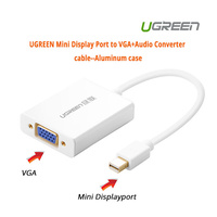 UGREEN Mini Display Port to VGA+Audio Converter cable (10437)