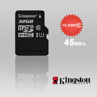 KINGSTON SDC10G2/32GBFR 32GB microSDHC Class 10 UHS-I upto 45MB/s with SD adaptor