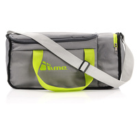 20L Foldable Gym Bag (Grey / Green)