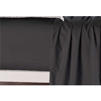 Single Size Black Color Fitted Sheet