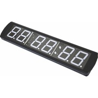 6 Digit Digital Timer Interval Fitness Clock