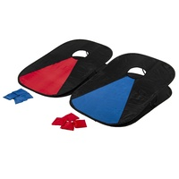 Collapsible Portable Corn Hole Boards With 8 Cornhole Bean Bags, Carry Case