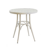 Aluminium Round Coffe Table