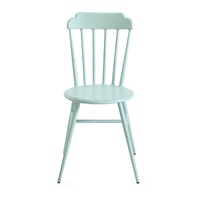 Aluminium Windsor Dinning Chair Retro Blue Set of 2