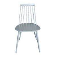 Aluminium Dinning Chair Retro Grey Set of 2