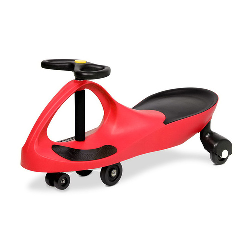 Rigo Kids Children Swing Car Ride On Toys Scooter Wiggle Slider Swivel Cars Red